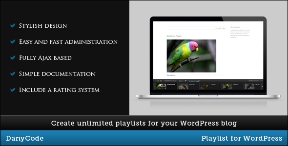 CodeCanyon - Playlist for WordPress