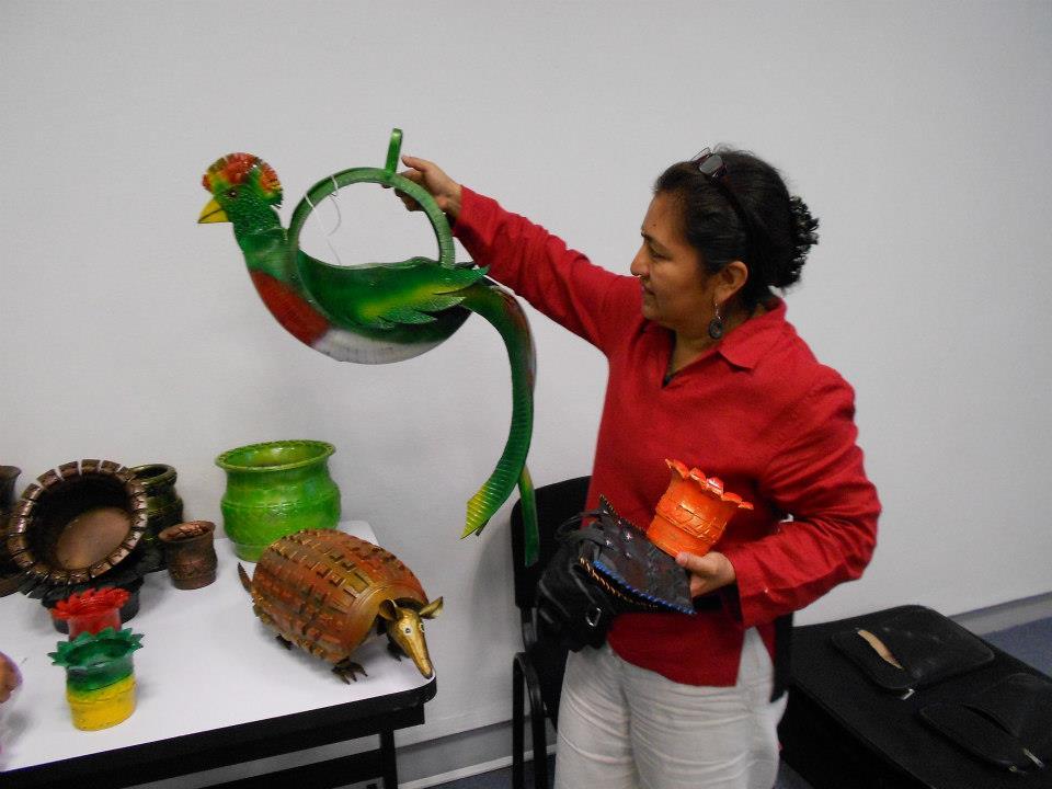 Las llantas hechas arte (artesanía ecológica)