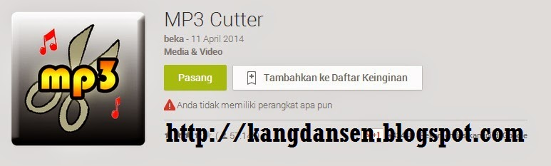 MP3 Cutter di Android