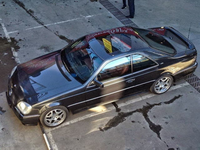 mercedes w140 coupe