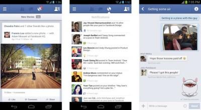 Facebook Rilis Versi Terbaru Untuk Perangkat Android
