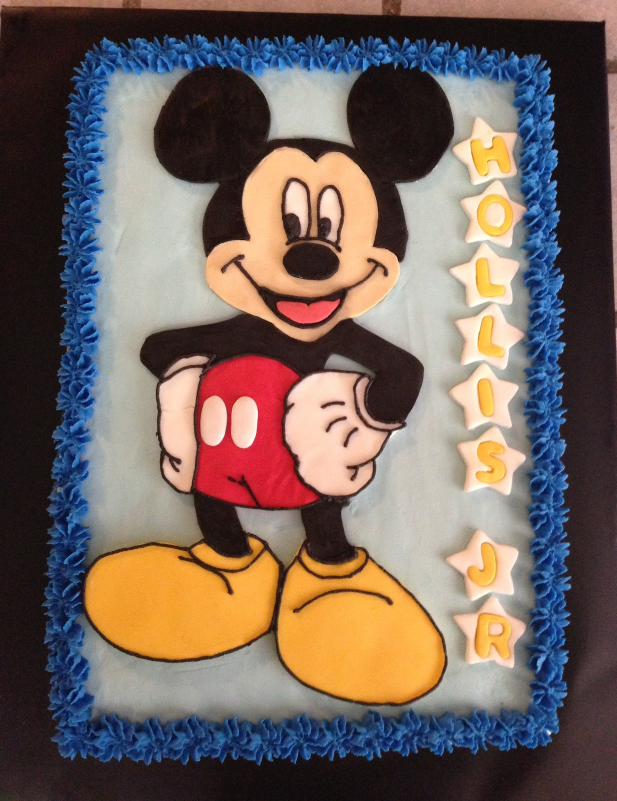 Cakes by Mindy Mickey Mouse Cake 9 x 13