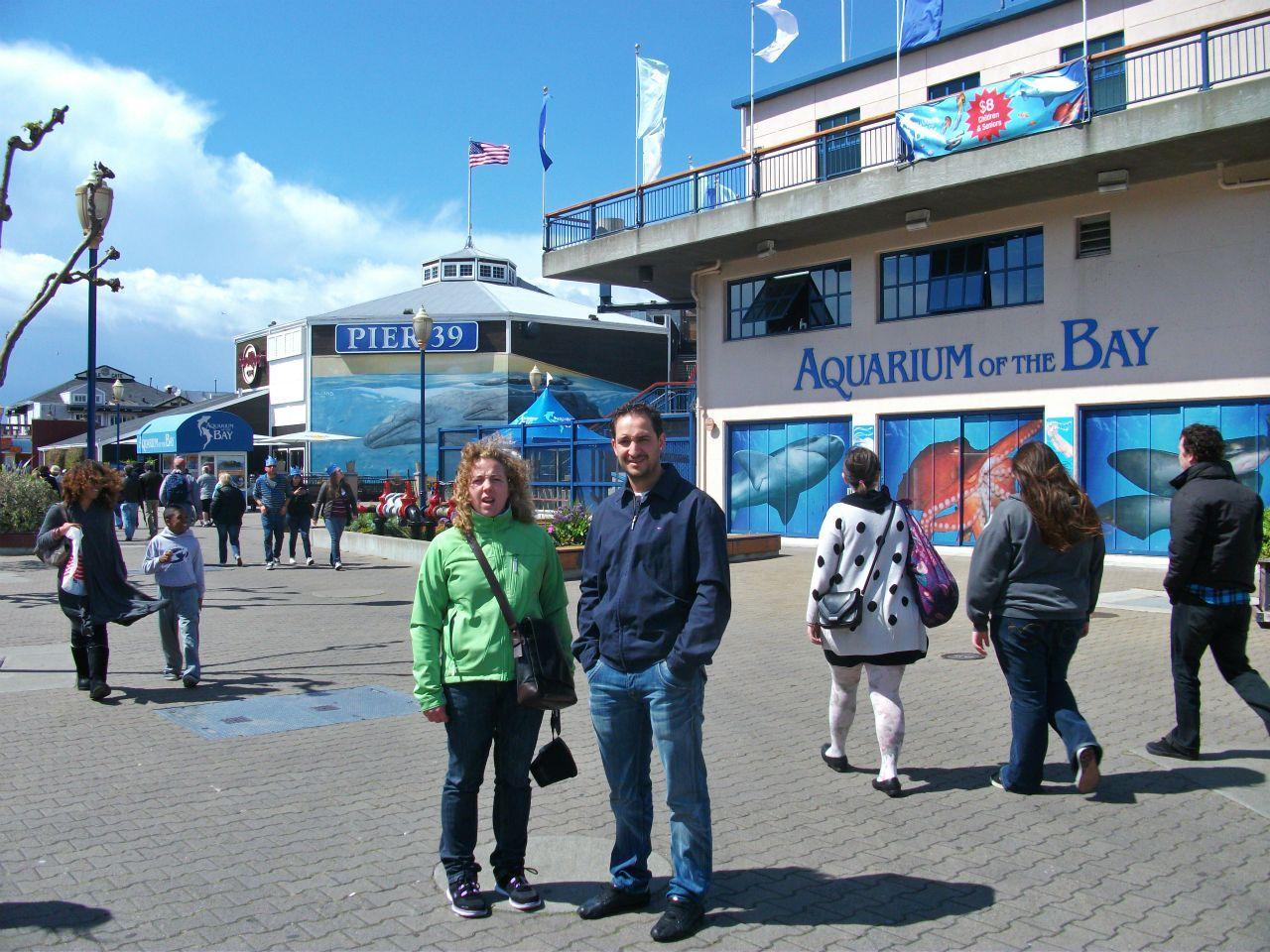 Fisherman's Wharf en San Francisco. Pier 39