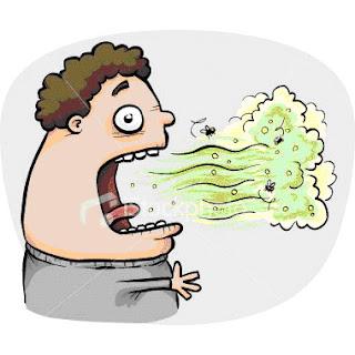 Cara Menghilangkan Bau Mulut - Cara, tips, trik, mengatasi mencegah bau mulut secara alami, sehat, dan cepat