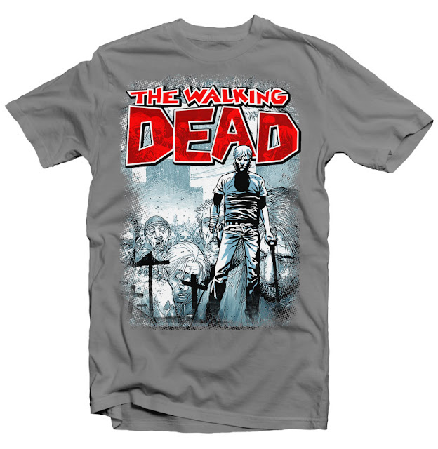 walking dead tshirt design
