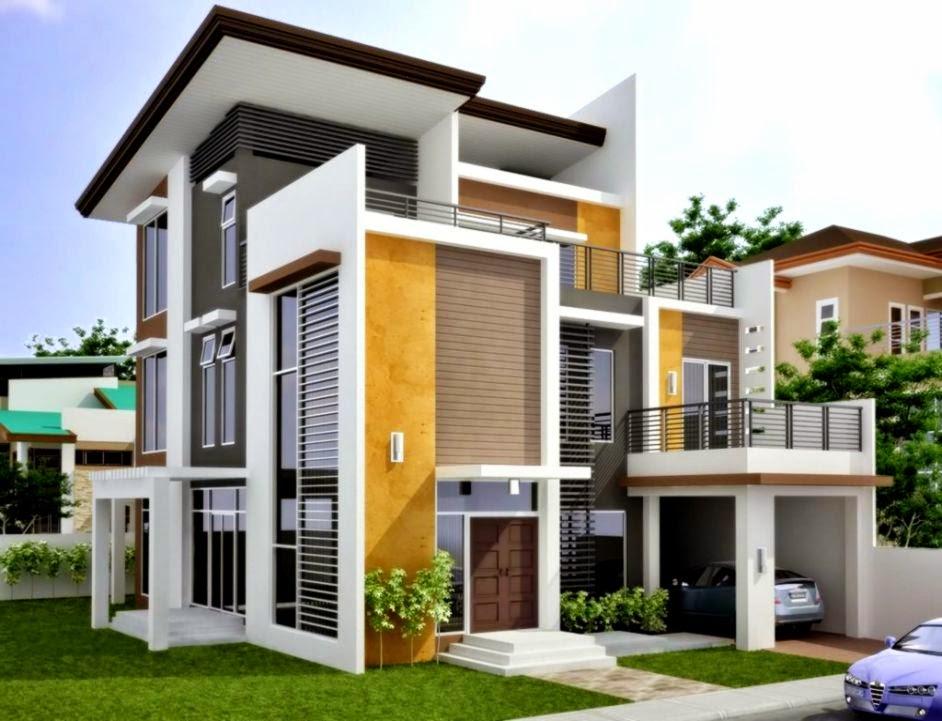 Contoh Desain Rumah Minimalis Sederhana 2015   Gambar Rumah