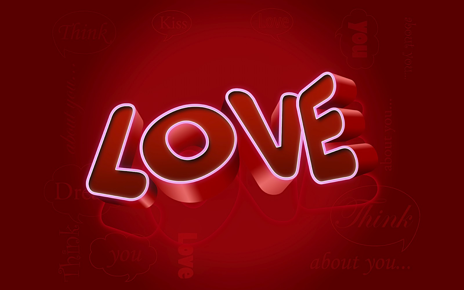 Love Wallpaper Msg : Wallpaper Desk : I love you wallpaper, i love you ...