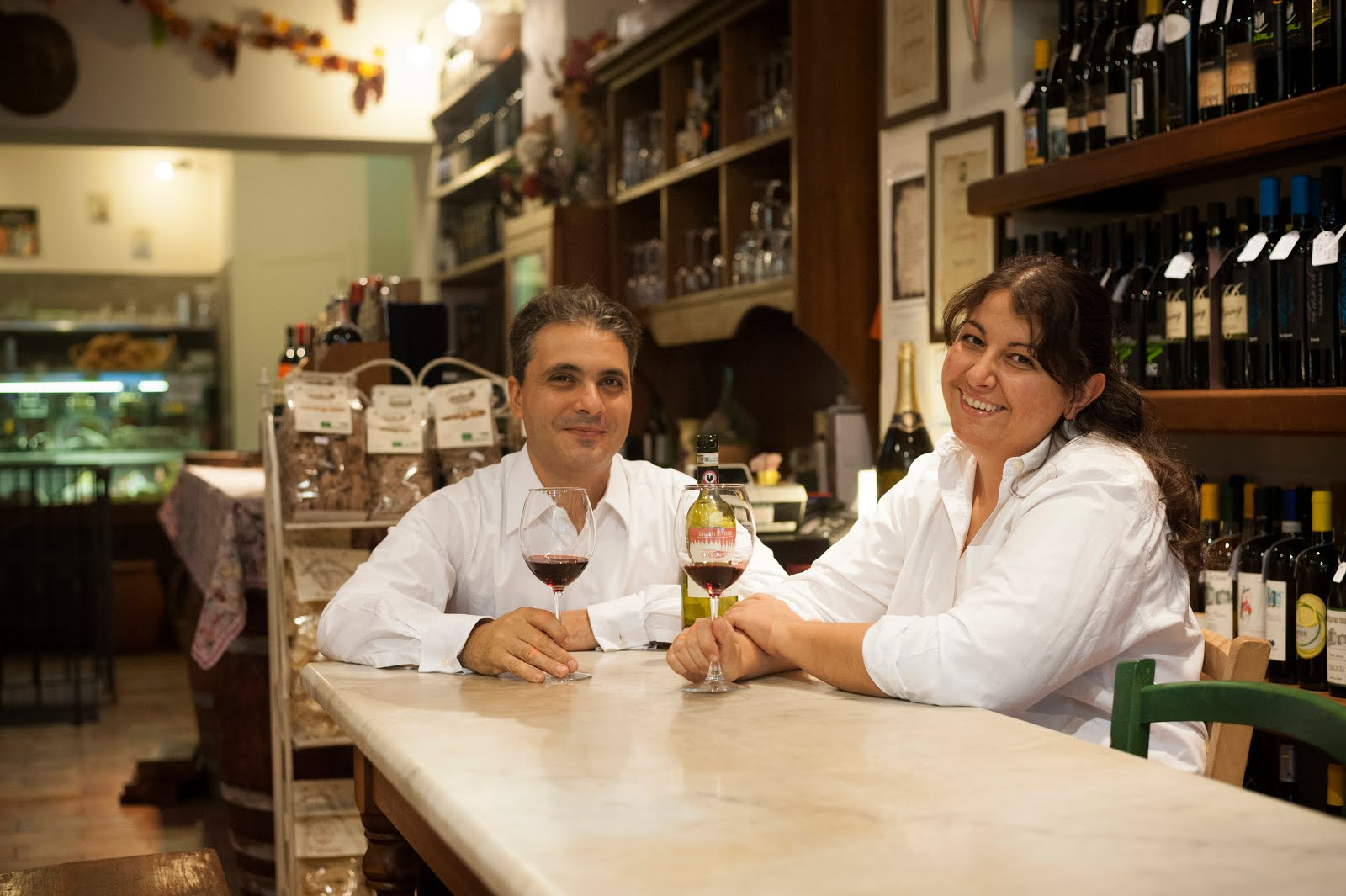 Bianca Ciatti e Livio Del Chiaro