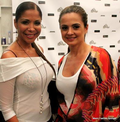 Lissette Rondon and Mariana Hinestroza, Designer of 'Agua Bendita'