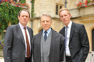Kevin Whately, Edward Fox, Laurence Fox – Courtesy of © ITV Studios