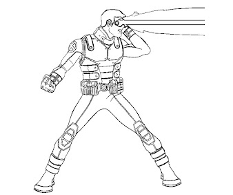 #8 Cyclops Coloring Page