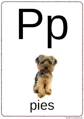 Alfabet dla dzieci do wydruku