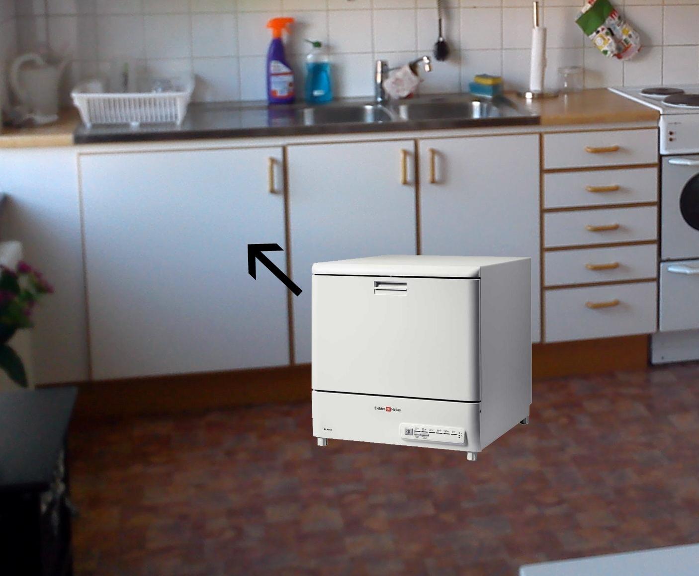 Inredning blandare bänkdiskmaskin : Ett steg i taget...: Tankar och funderingar