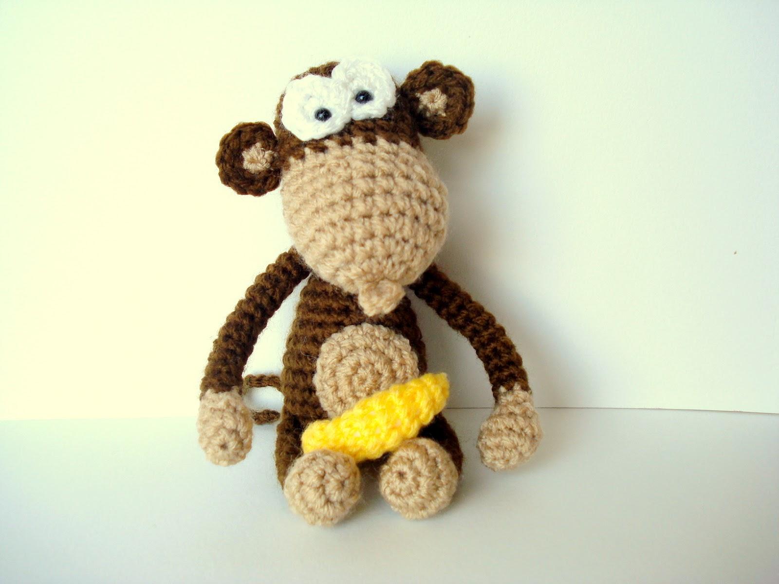 Amigurumi Orangutan Pattern : AllSoCute Amigurumis: Amigurumi Monkey Pattern, Crocheted ...