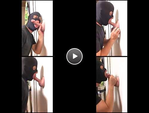 gay glory hole blowjobs video