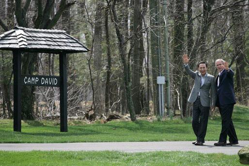 About Camp David Camp David Sign