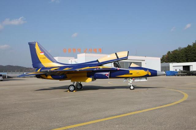Pesawat Latih Tempur Goldel Eagel T-50 Dari Korea Selatan