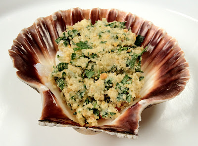 stuffed scallop