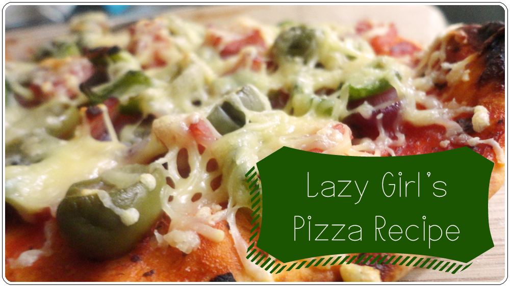 Lazy Girl's Pizza Recipe (Thin Crust)