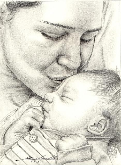 la mère et son enfant