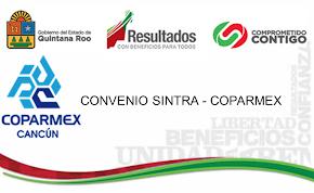 CONVENIO DE COLABORACIÓN COPARMEX - SINTRA