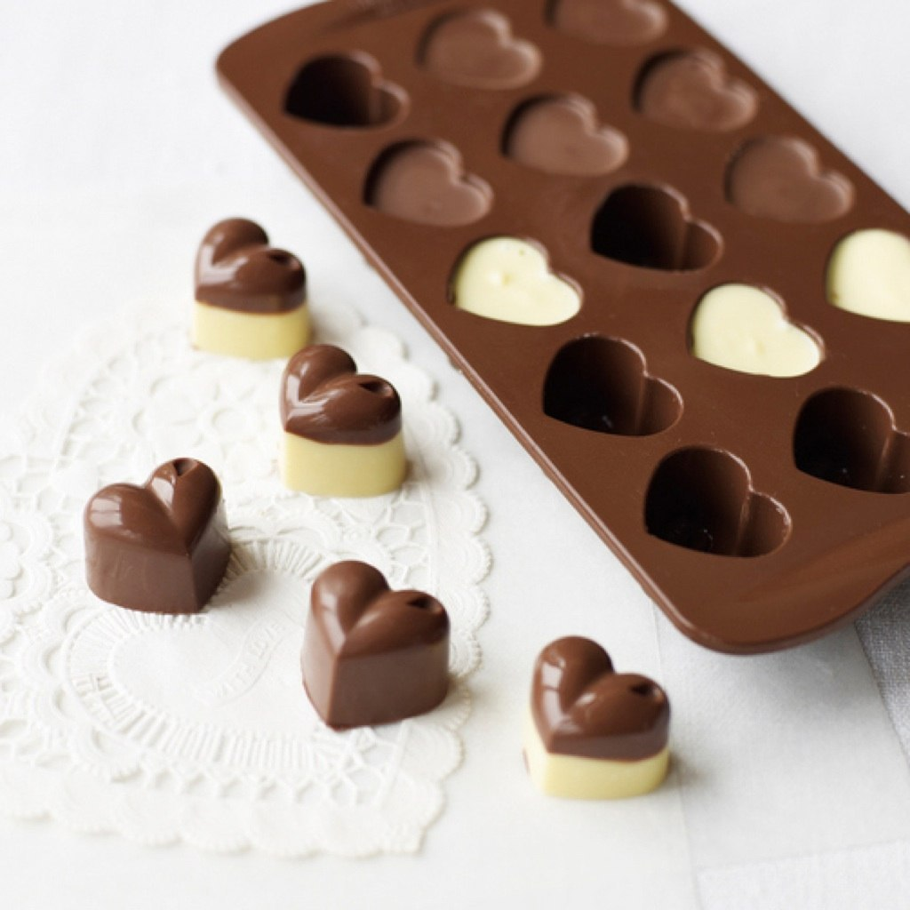 Как сделать формочку для шоколада своими руками