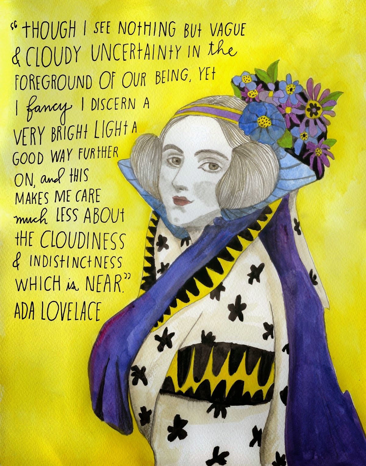 Ada Lovelace Image by Susan Congdon