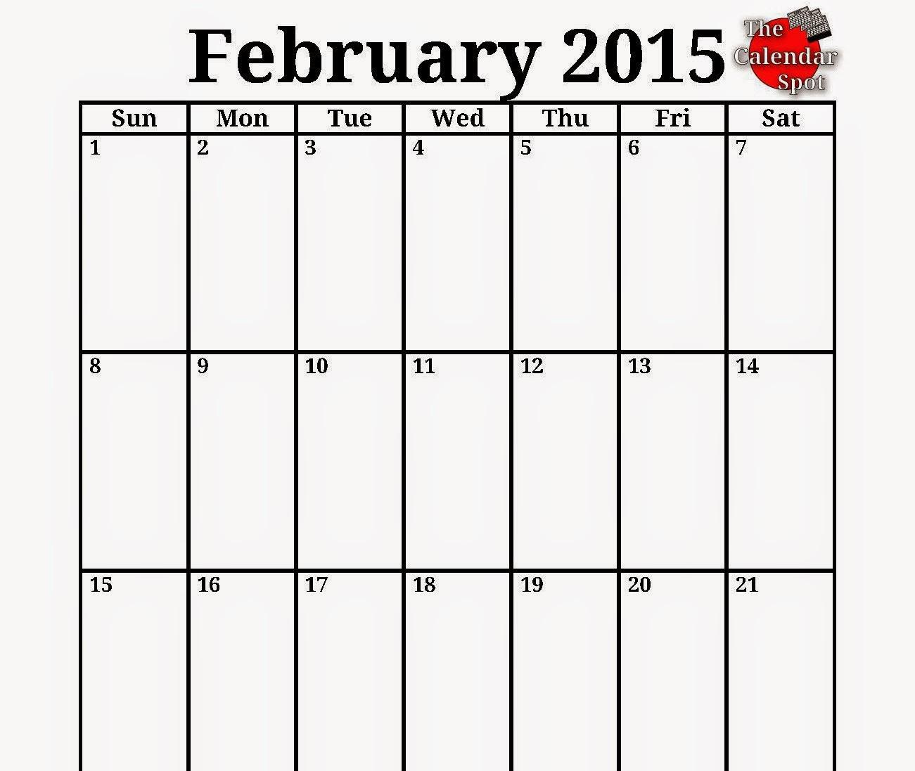 printable calendar: Free Printable Calendar 2018: Free Printable Calendar February