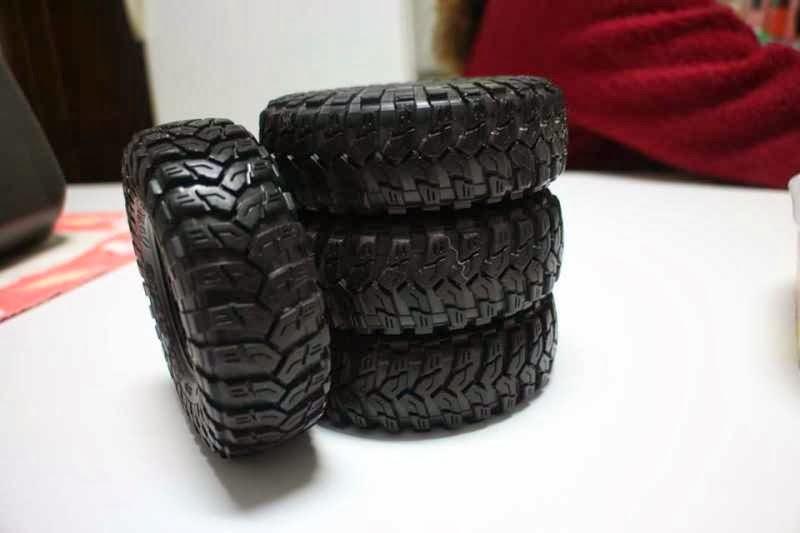 (VENDO) Axial Maxxis Tires - 40€
