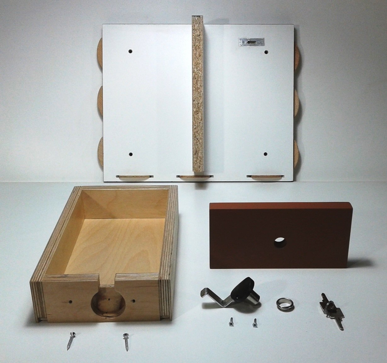 Costruiamo i mobili serrature per cassetti quarta parte - Mobile con serratura ...