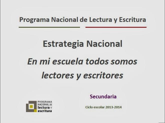 ESTRATEGIA NACIONAL PNLE