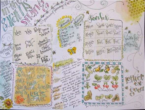 Yapping Cat Studio Garden Journal