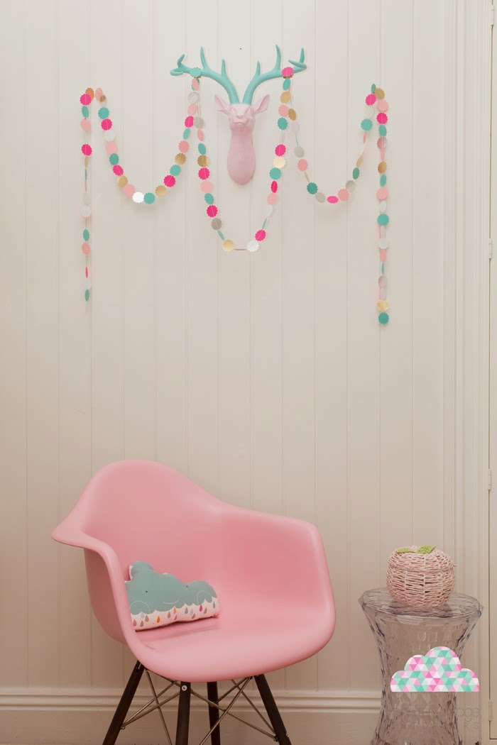 Petite Vintage Interiors room design // Sunday in color blog