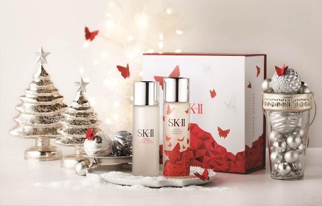 Wings of Change, SK-II Festive 2015, SK-II Malaysia, SK-II, Perseverance, Blue Hummingbird, Encouragement, Pink Butterflies, Boldness, Red Butterflies, SK-II Flawless Beauty Set, SK-II Gift Set, SK-II Iconic Set