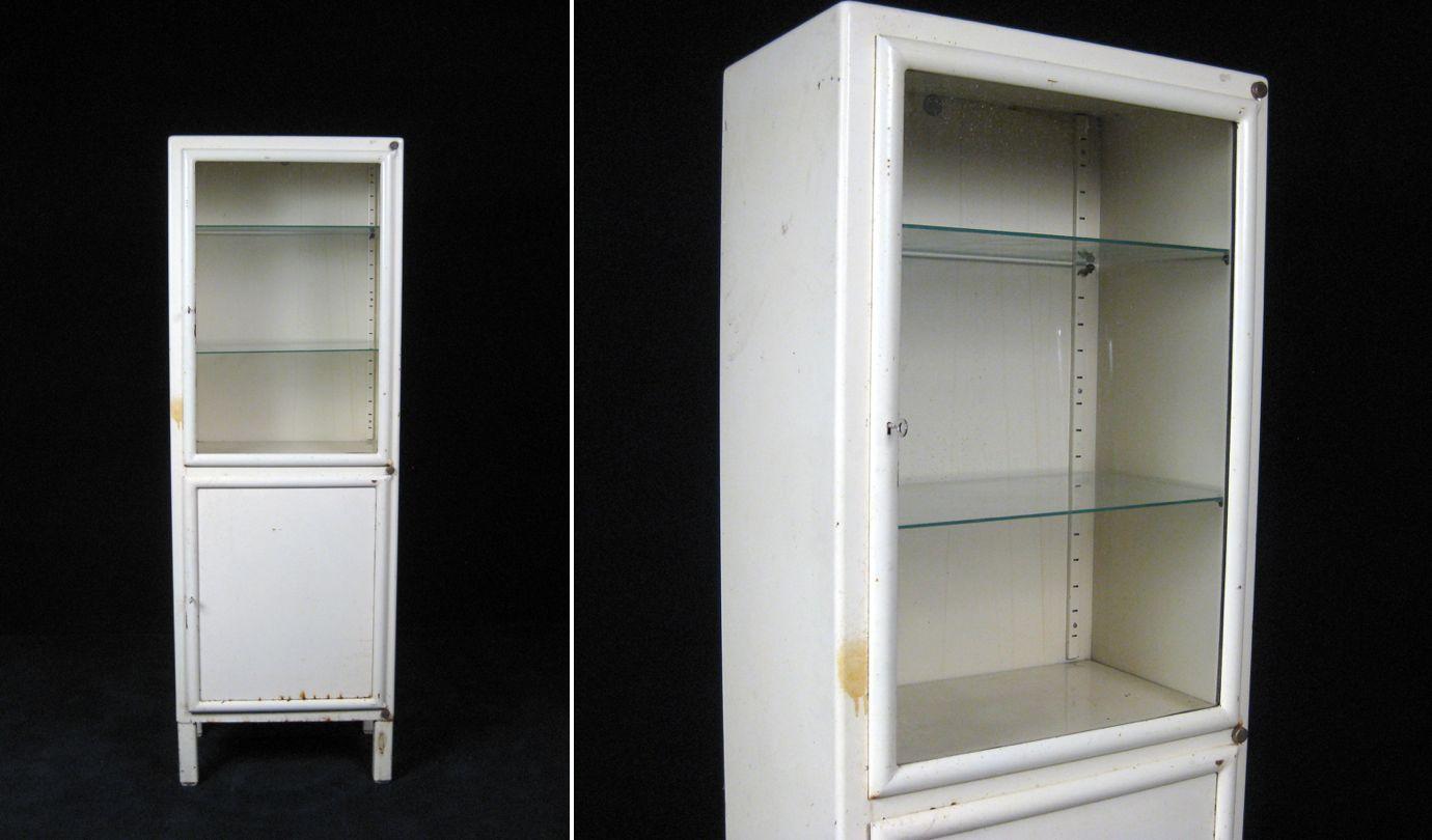 vintage medical cabinet | vintage lekarska skrin | designinwhite