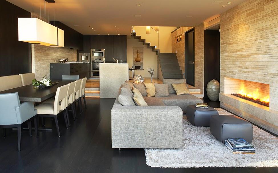 Designer Sofas Schickes Apartment