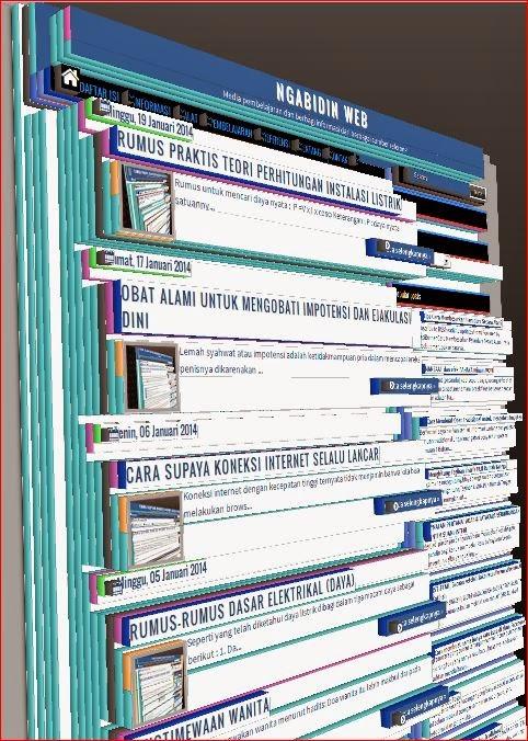 Media pembelajaran dan berbagi informasi dari berbagai sumber referensi