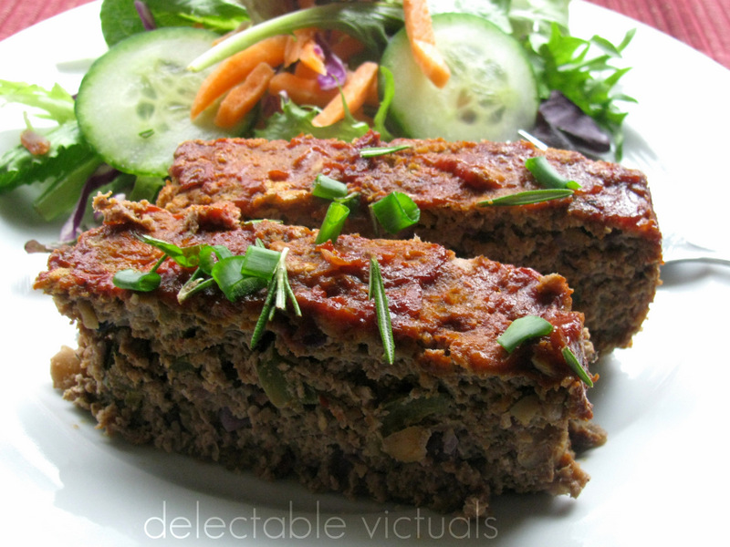 ground turkey soybean meatloaf