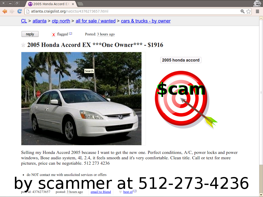 Autotrader Mitula Olx And Everywhere Else Too Scam Vehicle