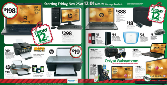 Black Friday Online Deals for 2011 Black Friday, Don't Miss a Single Rollback or Special Offer!