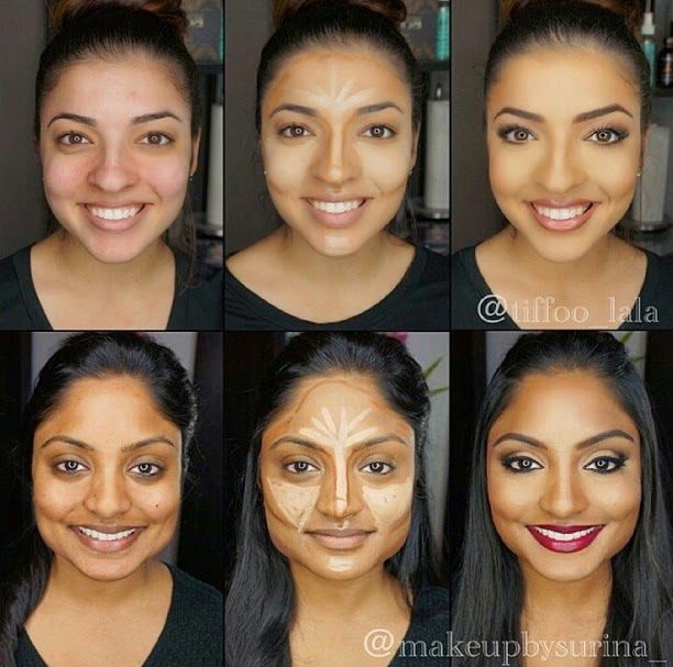 Contouring Tutorial For Normal and For Dark Skin - B & G Fashion