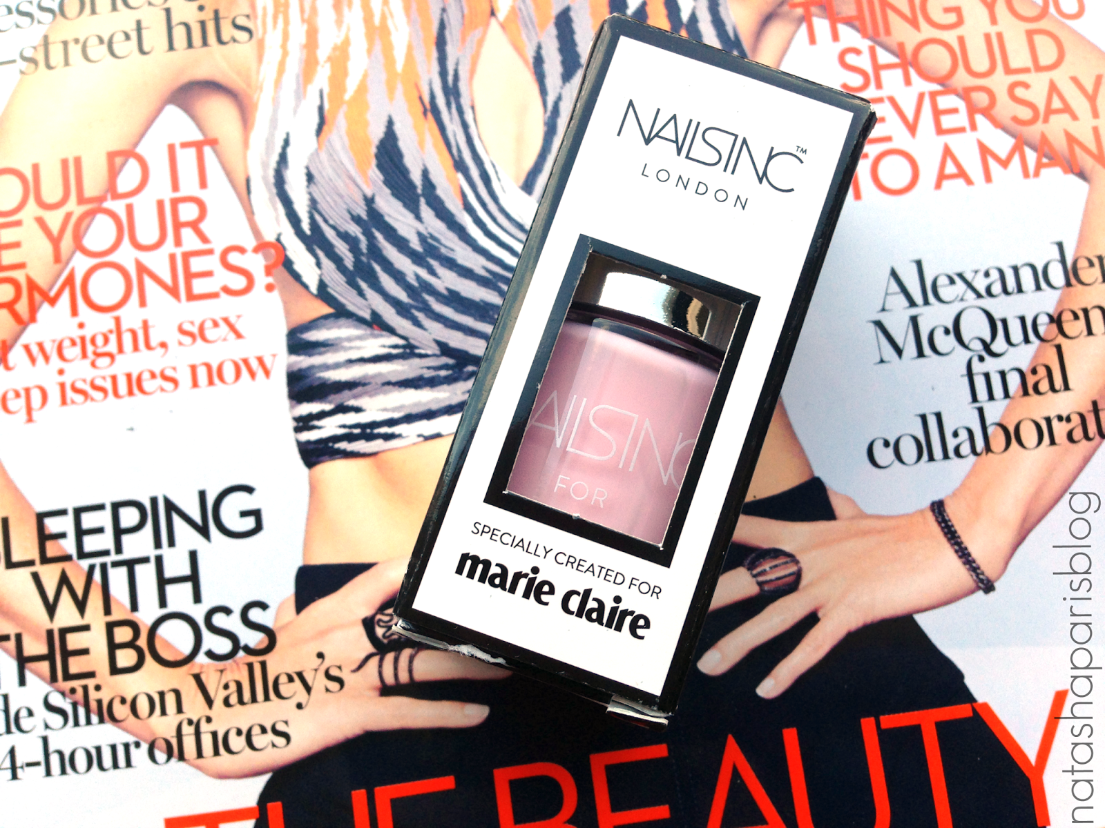 Marie Claire Nails Inc April 2015