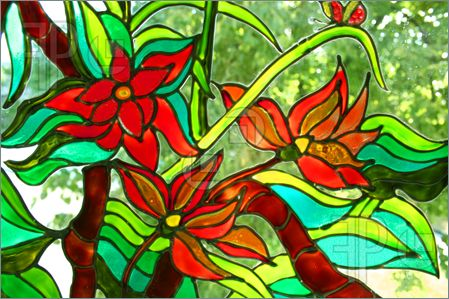 Free Stained Glass Patterns: Glass Painting Classes in Pointe-Claire