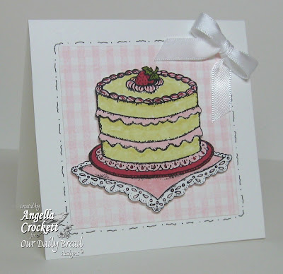 "ODBD ""Cake Single"" Designer Angie Crockett"