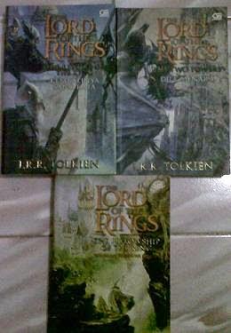 Novel Lord Of The Ring Bekas