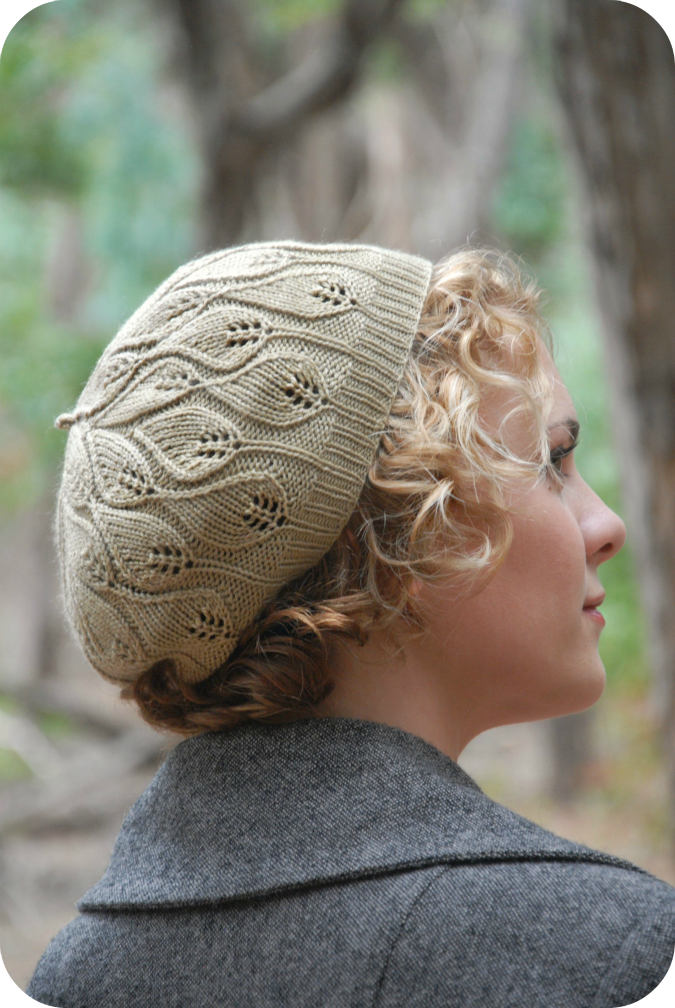 Leaf Beret Knitting Pattern : Never Not Knitting: 6 Days Of Fall Pattern Sales!