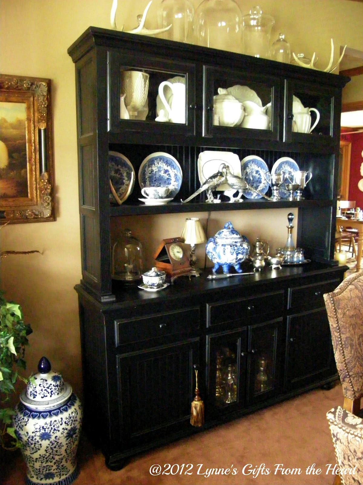 Lynne 39 s gifts from the heart the dining room hutch for A dining room hutch