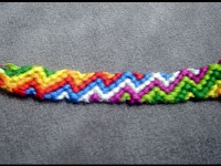 Friendship Bracelet Zig Zag1