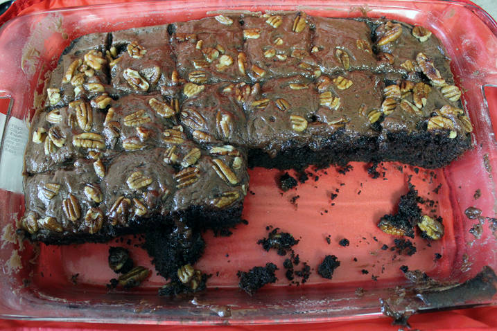 Dr Pepper Cake With German Chocolate Cake Mix