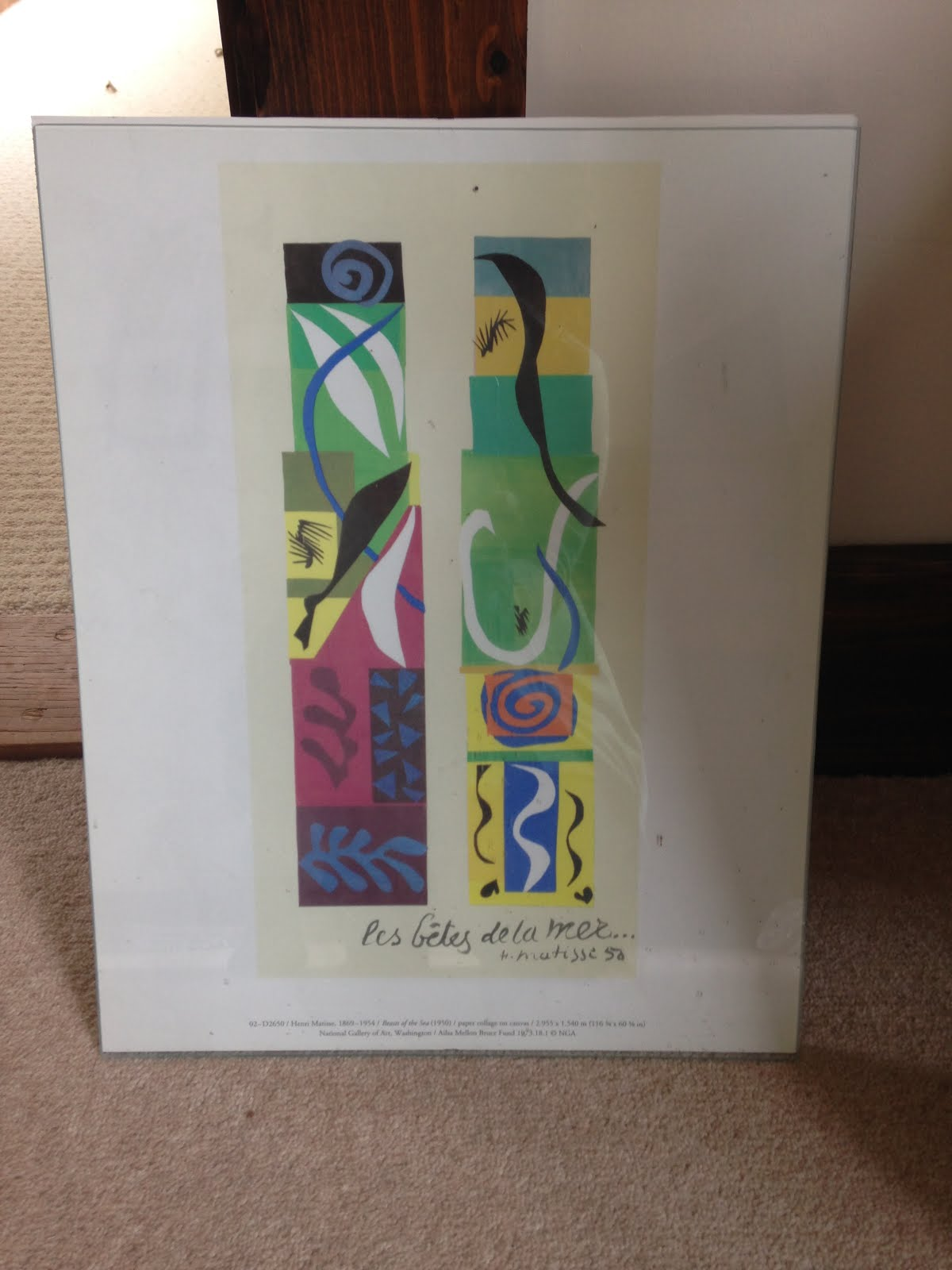 # 34 Frame the Matisse print